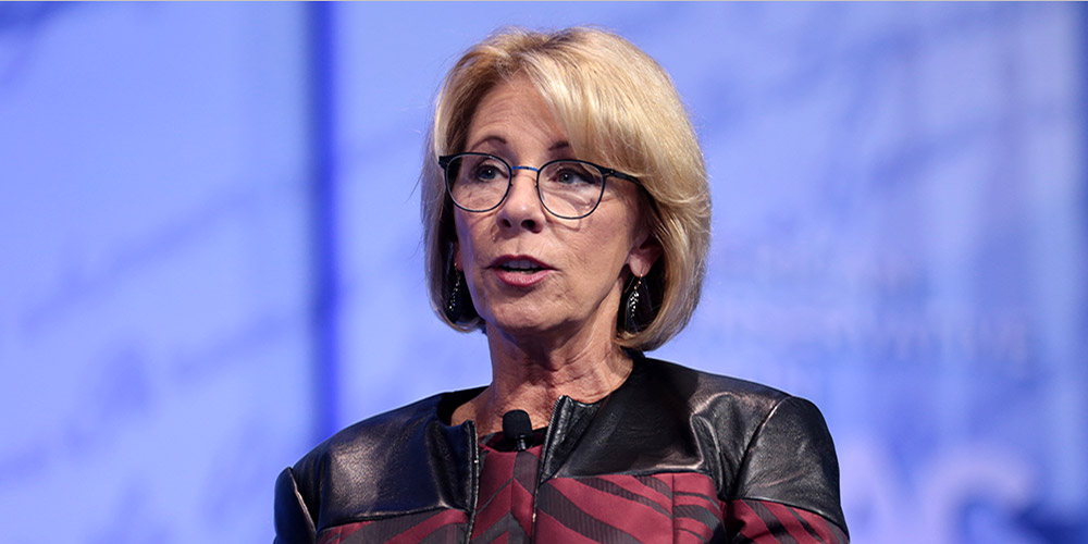 Civil Rights Groups Sue DeVos over Campus Sexual Assault Guidance