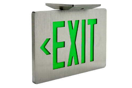 Dual Technology Exit Signs: Increased Reliability, Whether Power is On or Off