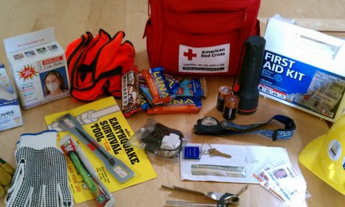 A School Emergency Kit Checklist