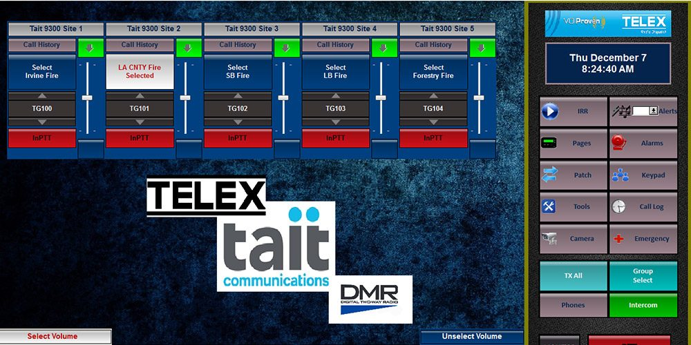 Telex Radio Dispatch Introduces New Software and Interface Platform