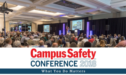 2018 Campus Safety Conference in 3 Cities: Dallas TX, Washington DC, and Pasadena CA