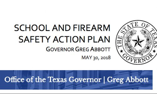 Texas School Safety Plan Released By Governor Abbott