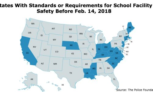 Calls For National School Security Guidance Grow As State Requirements Scrutinized