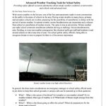 Advanced Severe Weather Tracking Tools for School Safety