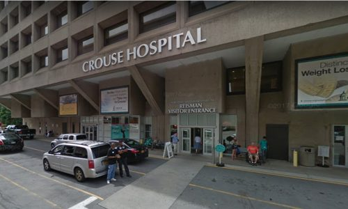 Man Dies After Jumping Out 5th Floor Window at Crouse Hospital