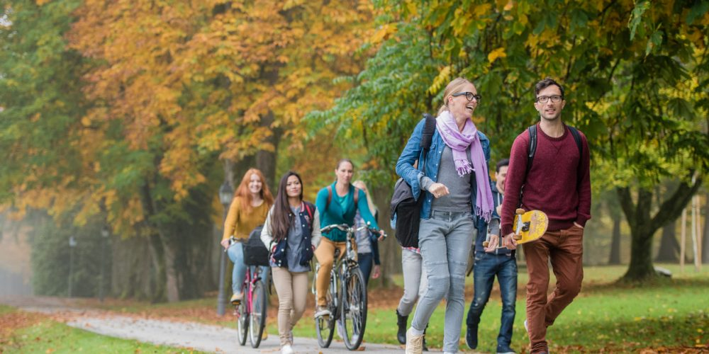 Safety Tips For Sharing the Road and Sidewalks on Campus