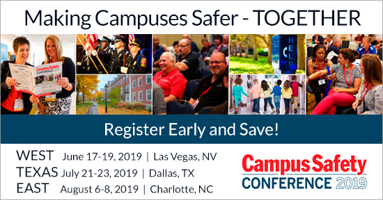 Campus Safety Conference 2019 Home Page Promo