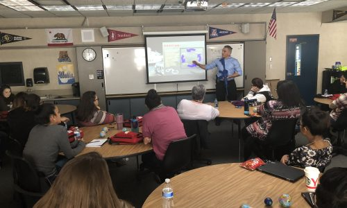 Chief Mark Clark Conducts Active Shooter Training for Staff