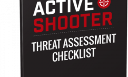 Active Shooter Threat Assessment Checklist