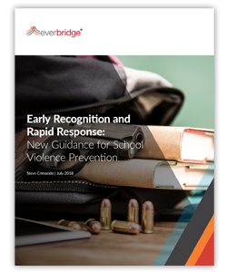 Read: School Violence Prevention: New Guidance for Early Recognition and Rapid Response