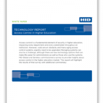 Access Control in Higher Education: Technology Report