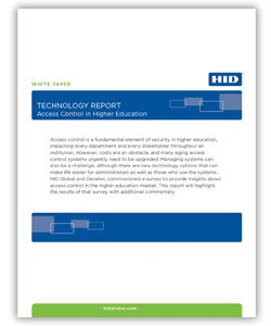 Read: Access Control in Higher Education: Technology Report