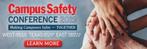 Campus Safety Conference 2019 Banner