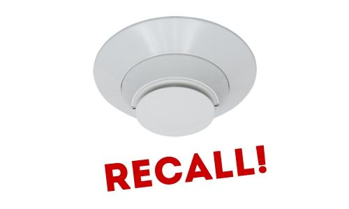 Honeywell Recalls Notifier Photoelectric Smoke Sensors