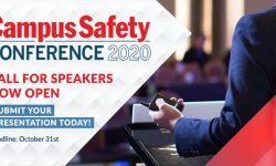 Campus Safety Conferences Announce 2020 Call for Speakers