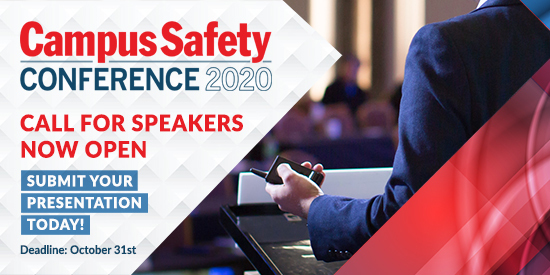 Campus Safety Conference 2020 Call for Speakers