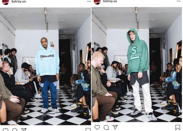 Clothing Brand Bstroy Debuts School Shooting Themed Hoodies at N.Y. Fashion Week