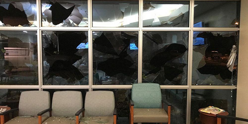 Tornado Rips Through Sioux Falls Hospital Complex