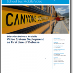 Keeping Students Safe on the Bus with Mobile Video