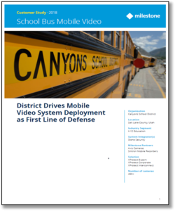 Read: Keeping Students Safe on the Bus with Mobile Video
