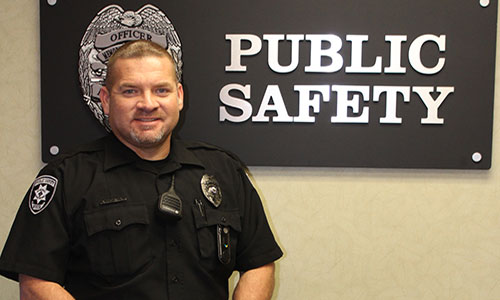 Memorial Healthcare Public Safety Officer Saves Man's Life