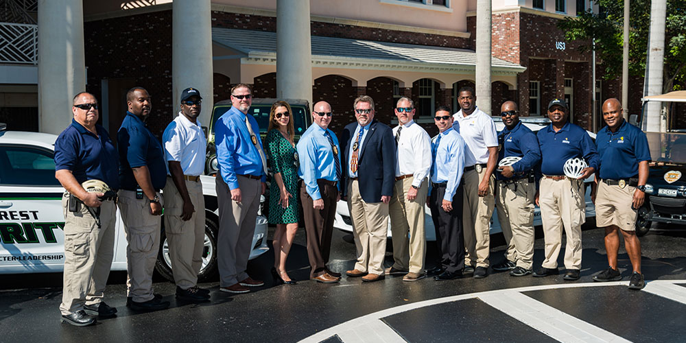 Security Director Uses Law Enforcement Expertise to Make Whole Community Safer