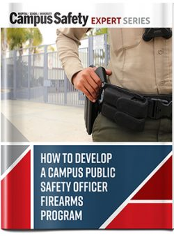 How to Develop a Campus Public Safety Officer Firearms Program