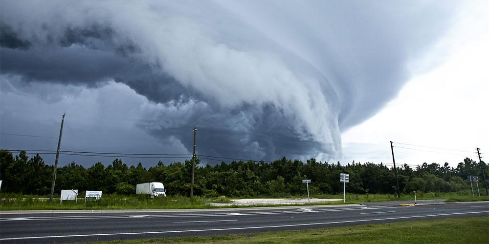 EF-2 Tornado Rips Through North Central High School (S.C.)