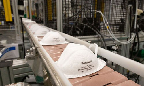 Honeywell Factory Now Producing N95 Masks for Healthcare Workers