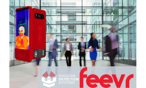 Shooter Detection Systems to Distribute X.Labs Fever Screening Device