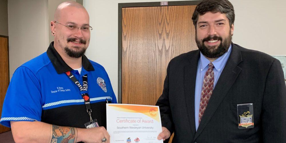 Southern Wesleyan University Awarded Preparedness Grant