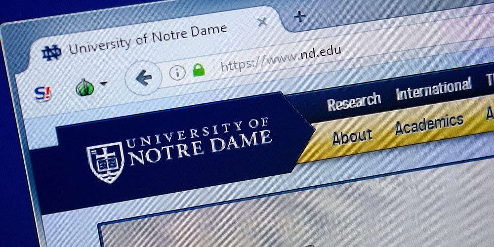 Notre Dame Turns to Schneider Electric to Increase Energy Efficiency