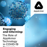 Engaging and Informing: The Role of AppArmor Technology in COVID-19 Response