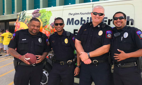 Security Director Gives Back to Community That Raised Him