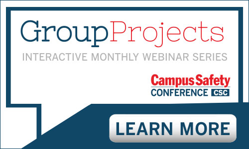 Campus Safety Conference Monthly Webinar Series