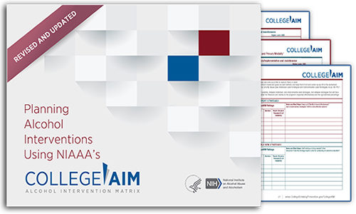 NIAAA's CollegeAIM Program Helps with Planning Alcohol Interventions