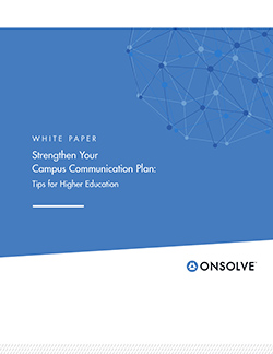 Read: Strengthen Your Campus Communication Plan