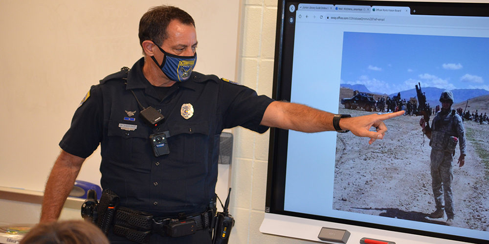 Auburn City SRO Finds Unique Way to Connect with Students