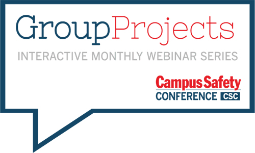 GroupProjects: Prioritizing Campus Safety and Security Issues in 2020 and Beyond