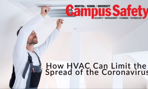 Proper Ventilation on Campus Can Slow the Spread of COVID-19