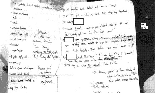 FBI Releases UC Merced Student's Manifesto for 2015 Stabbing Spree