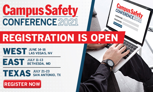 Campus Safety Conference Registration Open Promo