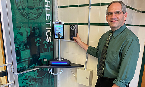 Roselle Catholic High School Upgrades Intercom System with Aiphone IX Series