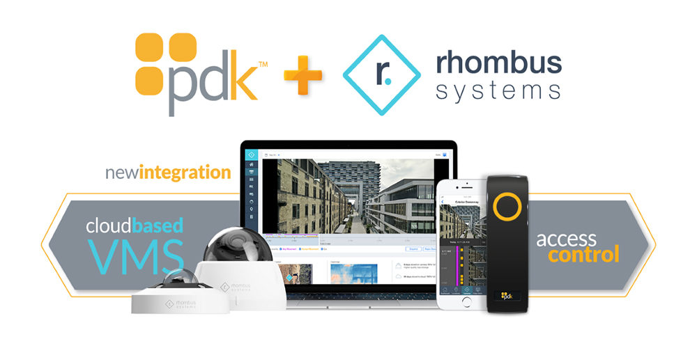 ProdataKey, Rhombus Systems Offer Integrated Access Control and Video Security Solution