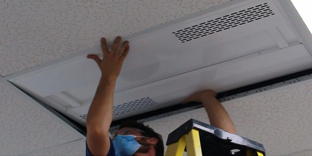 UVC LED Fixtures Provide Continuous Disinfection of COVID-19 in Schools