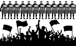 Responding to Civil Unrest: Creating Policies for Maintaining Security and University Support