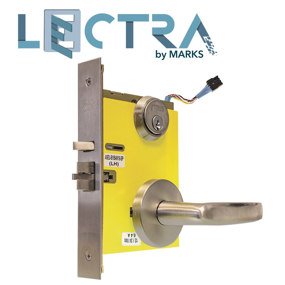 New Lectra Marks Electrified Locks All-Around Cost-Savings vs. Electric Strikes – Ideal in Fire Applications