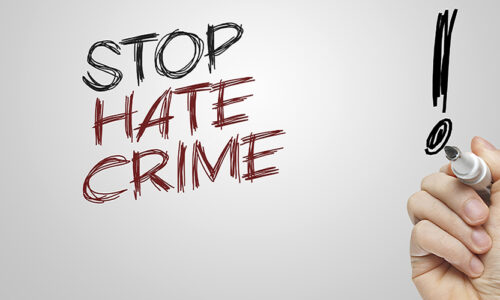 FBI: 2020 Saw Highest Number of Hate Crimes in 12 Years