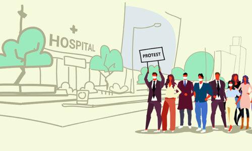 Nurses on Strike Accuse Saint Vincent Hospital of Patient Dumping
